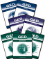 GED Scoreboost workbooks