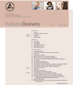 Reference Manual American Academy of Pediatric Dentistry