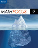 Nelson Math Focus 9 Student Success Adapted Program Workbook