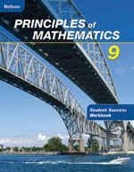 Nelson Principles of Mathematics 9 Student Success Workbook Answers