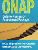 Ontario Numeracy Assessment Package 7