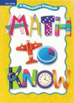 Math to Know: A Mathematics Handbook Grade 3- 4 Teacher's Resource Book
