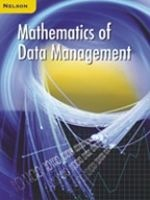 Nelson Mathematics of Data Managment Test Bank