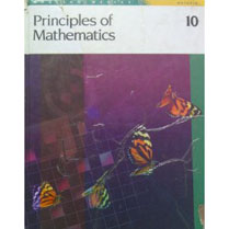 Addison Wesley Principles of Mathematics 10 Student Edition       Mathematics (Ontario) 9-12