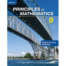 Nelson Principles of Mathematics 9: Student Success Workbook