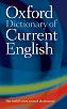 Oxford Dictionary of Current English Fourth Edition