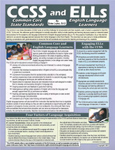 Common Core State Standards and English Language Learners CCSS and ELLs