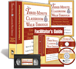 The Three-Minute Classroom Walk-Through (Multimedia Kit) A Multimedia Kit for Professional Development
