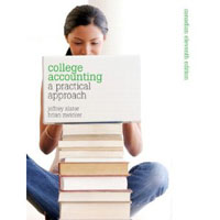 College Accounting: A Practical Approach, Eleventh Canadian Edition Plus MyAccountingLab with Pearson eText -- Access Card Package (11th Edition)