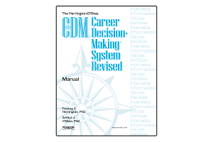 Career Decision-Making System Revised (Harrington-O'Shea)