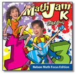 Nelson Math Focus Kindergarten MathJam Audio CD