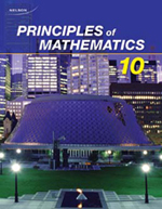 Nelson Principles of Mathematics 10 Solutions Manual