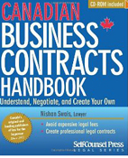 Canadian Business Contracts Handbook