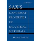 Sax's Dangerous Properties of Industrial Materials, 5 Volume Set