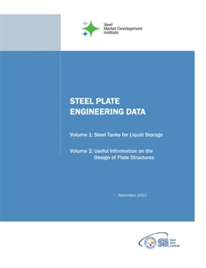 Steel Plate Engineering Data Series - Design of Plate Structures, Volumes I & II