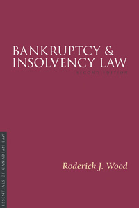 Bankruptcy and Insolvency Law, 2/e