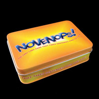 NOVENOPs! The Zany Card Game that takes Sentences over the Top!