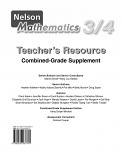 Nelson Mathematics (Grades 3/4) Teacher's Resource
