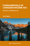 Fundamentals of Canadian Income Tax, Volume 2: Corporate Tax